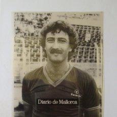 Coleccionismo deportivo: RCD MALLORCA : MIODRAG KUSTUDIC (TEMPORADA 1981-82) - TRANSPARENCIA PROCEDENTE DE ARCHIVO DE PRENSA. Lote 195135941