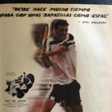 Coleccionismo deportivo: PUBLICIDAD DE ADIDAS, CON SERGI BRUGUERA. ORIGINAL 1997. TAMAÑO FOLIO. ENMARCABLE.. Lote 195150497