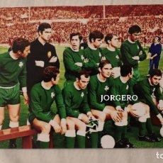 Coleccionismo deportivo: PANATHINAIKOS F.C. ALINEACIÓN FINALISTA COPA DE EUROPA 1970-1971 EN WEMBLEY CONTRA EL AJAX. FOTO. Lote 195241851