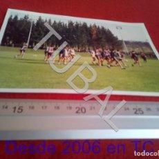 Coleccionismo deportivo: TUBAL ATHLETIC BILBAO ENTRENAMIENTO GARITANO Y OTROS 1996 FOTOGRAFIA AGFA B49. Lote 195279122