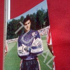 Coleccionismo deportivo: TUBAL ATHLETIC BILBAO JUAN JOSE VALENCIA FOTOGRAFIA FOTO JET DURANGO B49. Lote 195288493
