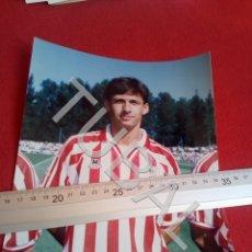 Coleccionismo deportivo: TUBAL ATHLETIC BILBAO CUCO ZIGANDA FOTOGRAFIA FOTO JET DURANGO B49. Lote 195288692