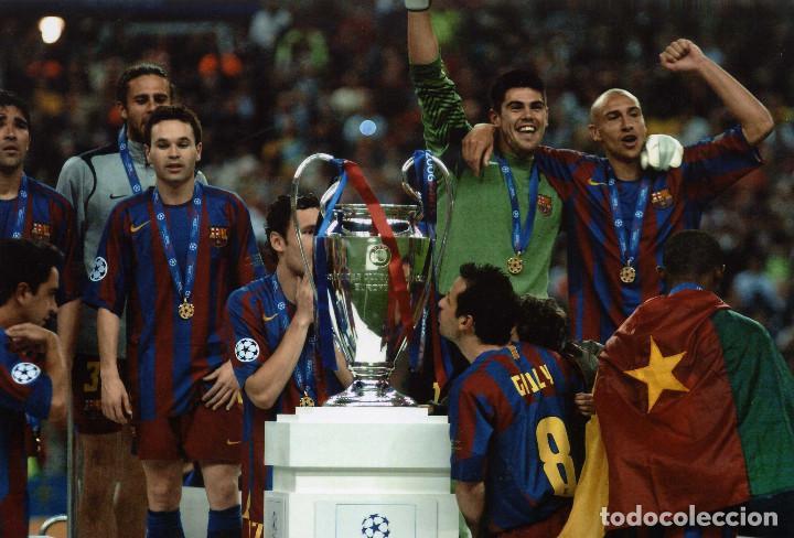 FINAL CHAMPIONS BARCELONA VS ARSENAL (Coleccionismo Deportivo - Documentos - Fotografías de Deportes)