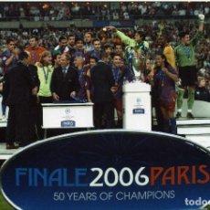 Coleccionismo deportivo: FINAL CHAMPIONS BARCELONA VS ARSENAL. Lote 195324122