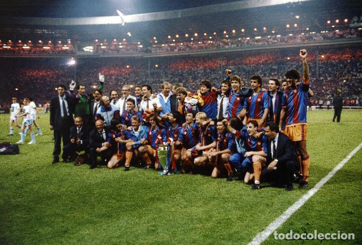 FINAL DE WEMBLEY - COPA DE EUROPA 1992 (Coleccionismo Deportivo - Documentos - Fotografías de Deportes)