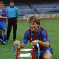 Coleccionismo deportivo: LAUDRUP - COPA DE EUROPA 1992. Lote 195324866