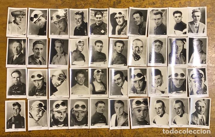 Coleccionismo deportivo: TOUR DE FRANCE 1933, 40 PHOTOGRAPHIES GLAÇEES - Foto 2 - 195327510