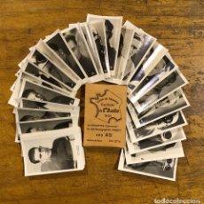 Coleccionismo deportivo: TOUR DE FRANCE 1933, 40 PHOTOGRAPHIES GLAÇEES. Lote 195327510