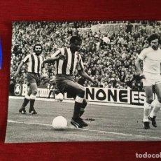 Coleccionismo deportivo: F3541 FOTO FOTOGRAFIA REAL MADRID 1-1 ATLETICO MADRID(15-5-1977)BREITNER LUIS PEREIRA CAMPEONES LIGA. Lote 195382276
