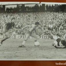 Coleccionismo deportivo: REAL CLUB DEPORTIVO ESPAÑOL FUTBOL CLUB BARCELONA SOLSONA MIGUELI FOTO ORIGINAL PEREZ DE ROZAS. Lote 195388813