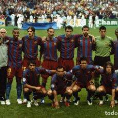Coleccionismo deportivo: FINAL CHAMPIONS BARCELONA VS ARSENAL. Lote 195590932