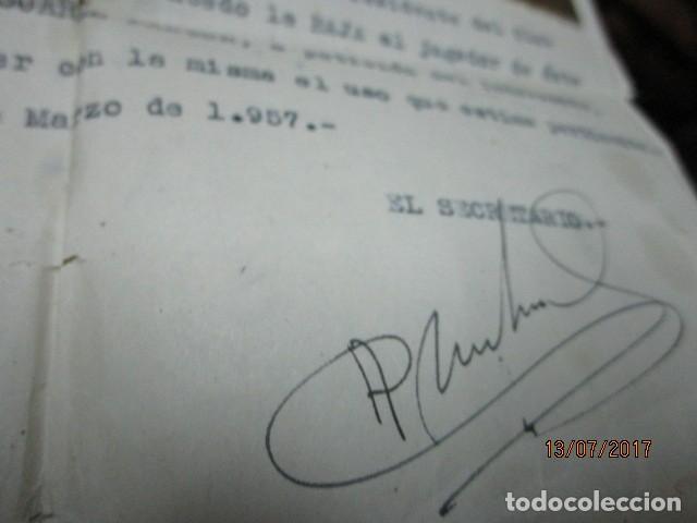 Coleccionismo deportivo: ASPE antigua foto aspense club fuTbol alicante documento del presidente - Foto 5 - 196108367
