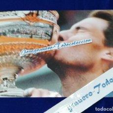 Coleccionismo deportivo: RAFA NADAL - FOTO ROLAND GARROS 2013. Lote 196195751