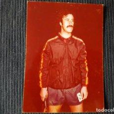 Coleccionismo deportivo: FOTO DE DEL BOSQUE EN LA SELECCIÓN 1980. Lote 196339018