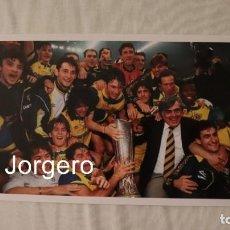 Coleccionismo deportivo: PARMA C. CAMPEÓN COPA UEFA 1994-1995 EN MILÁN CONTRA LA JUVENTUS. FOTO. Lote 197059962