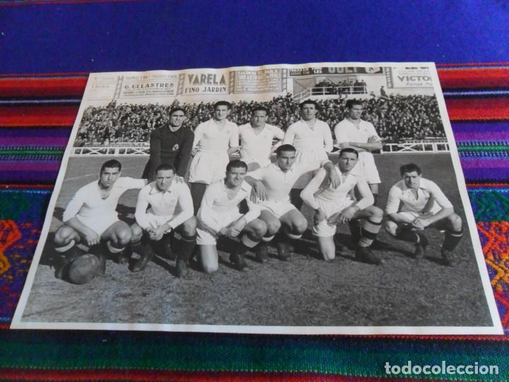 FOTOGRAFÍA ORIGINAL REAL MADRID VS DEPOR, ESTADIO DE CHAMARTÍN 9 ENERO 1944. 23,5X17,50 CMS. DE LUJO (Coleccionismo Deportivo - Documentos - Fotografías de Deportes)