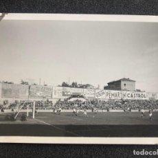 Coleccionismo deportivo: AÑO 1935. REAL MADRID. FOTOGRAFÍA EN EL ANTIGUO CHAMARTIN. ESTADIO DE FÚTBOL. . Lote 197230655
