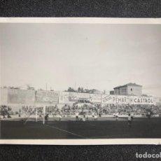 Coleccionismo deportivo: AÑO 1935. REAL MADRID. FOTOGRAFÍA EN EL ANTIGUO CHAMARTIN. ESTADIO DE FÚTBOL. . Lote 197230698