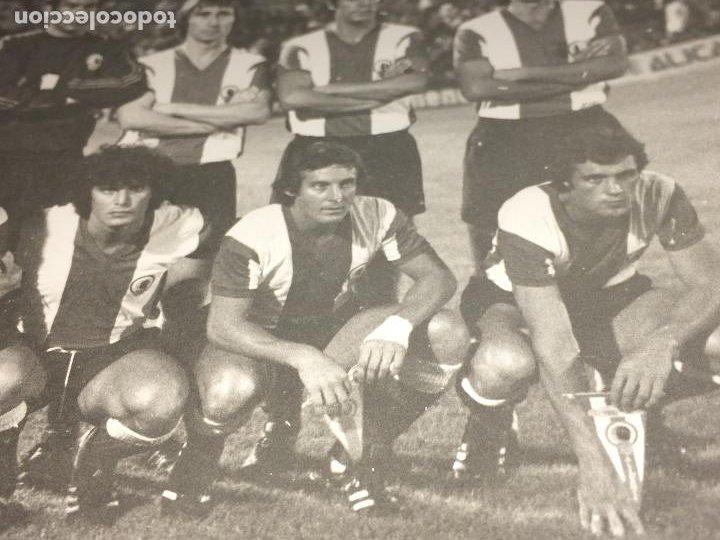 Coleccionismo deportivo: HERCULES, C. F. / ROYALE UNION SAINT-GILLOISE - AÑO 1976 - V TROFEO COSTA BLANCA - ALICANTE - Foto 3 - 197709292