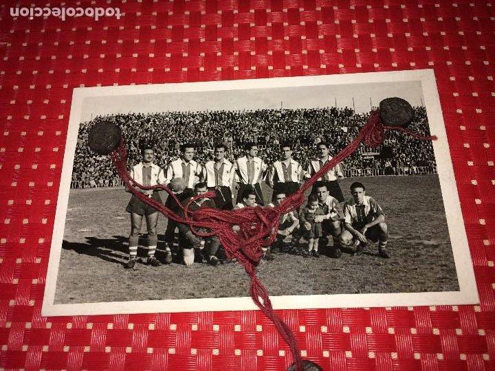 HÉRCULES, C. F. - TEMPORADA 1949/50 - HÉRCULES; 3 - REAL MURCIA; 0 - ORIGINAL DE LA ÉPOCA (Coleccionismo Deportivo - Documentos - Fotografías de Deportes)