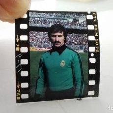 Coleccionismo deportivo: NEGATIVO FOTOGRAFIA MIGUEL ANGEL GARCIA REMON, PORTERO DEL REAL MADRID. Lote 198211627