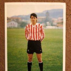 Coleccionismo deportivo: ANDONI AYARZA. FOTOGRAFÍA OFICIAL ATHLETIC CLUB. PRINCIPIOS 90S.. Lote 199427605
