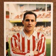 Collezionismo sportivo: LUIS DE LA FUENTE. FOTOGRAFÍA OFICIAL ATHLETIC CLUB. PRINCIPIO AÑOS 90.. Lote 199427652