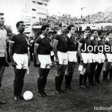 Coleccionismo deportivo: BENFICA S.L. ALINEACIÓN CAMPEÓN COPA DE EUROPA 1960-1961 EN BERNA CONTRA EL BARCELONA. FOTO. Lote 201687351