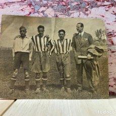 Coleccionismo deportivo: FOTOGRAFIA PPIO S XX AÑOS 20 JUGADORES ATLETICO MADRID OLASO GERENTE 13X17CMS. Lote 201773080