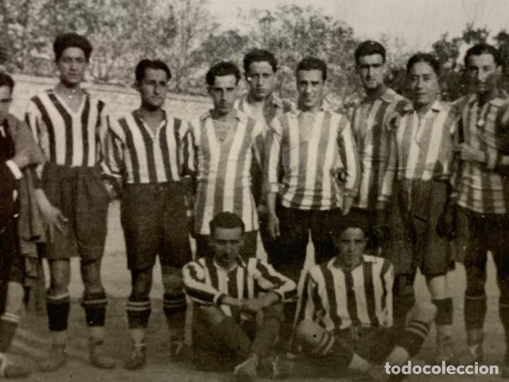 Coleccionismo deportivo: FOTOGRAFIA ATLETICO DE MADRID ALINEACION AÑOS 20 AVIACION LUIS OLASO MIEG ECHEVARRIA 9 X14 ppio s XX - Foto 7 - 201777645