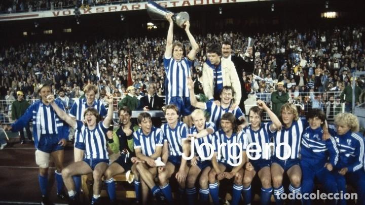 IFK GOTEBORG. CAMPEÓN COPA UEFA 1981-1982 EN VOLKSPARKSTADION CONTRA EL HAMBURGO. FOTO (Coleccionismo Deportivo - Documentos - Fotografías de Deportes)