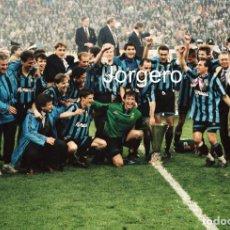 Coleccionismo deportivo: INTER DE MILÁN. CAMPEÓN COPA UEFA 1993-1994 EN MILÁN CONTRA CASINO SALZBURGO. FOTO. Lote 201854826