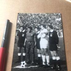 Coleccionismo deportivo: AMANCIO REAL MADRID MONTERO ELCHE CF 4-4-1976 ALTABIX. Lote 202525971