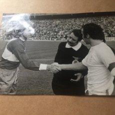 Coleccionismo deportivo: AMANCIO REAL MADRID MONTERO ELCHE CF 7-12-1975 BERNABEU. Lote 202527231