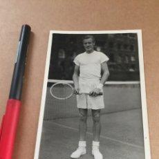 Coleccionismo deportivo: A. LARSEN WIMBLEDON AÑOS 50. Lote 202737528