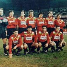 Coleccionismo deportivo: FOTO U.D. LOGROÑÉS DE 1992. Lote 203350896