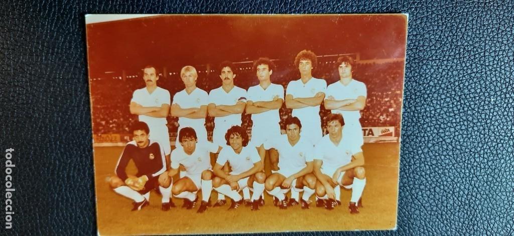 FOTO ORIGINAL DEL REAL MADRID DE 1980 (Coleccionismo Deportivo - Documentos - Fotografías de Deportes)