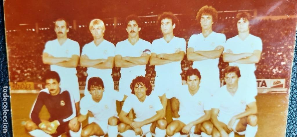 Coleccionismo deportivo: Foto Original del REAL MADRID de 1980 - Foto 2 - 203585287