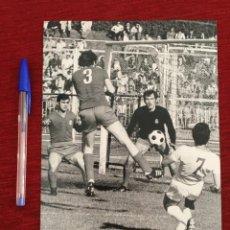 Coleccionismo deportivo: F8072 FOTO FOTOGRAFIA ORIGINAL DE PRENSA REAL MADRID AMANCIO (28-5-1972) FUTBOL BALONCESTO. Lote 205670960