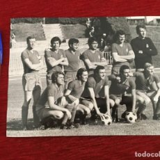 Coleccionismo deportivo: F8074 FOTO FOTOGRAFIA ORIGINAL DE PRENSA REAL MADRID (28-5-1972) FUTBOL BALONCESTO ONCE ALINEACION. Lote 205671085