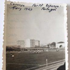 Coleccionismo deportivo: FOTOGRAFIA PARTIDO ESPAÑA - PORTUGAL 1949. Lote 206288171