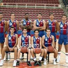 Coleccionismo deportivo: F.C. BARCELONA BALONCESTO. PLANTILLA 1992-1993. FOTO. Lote 206945942