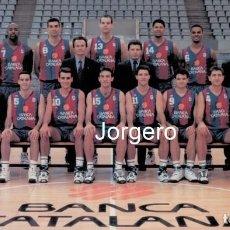 Coleccionismo deportivo: F.C. BARCELONA BALONCESTO. CAMPEÓN LIGA ACB 1994-1995. FOTO. Lote 206945992