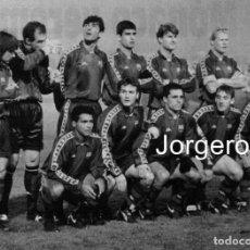 Coleccionismo deportivo: F.C. BARCELONA. ALINEACIÓN PARTIDO CHAMPIONS 1993-1994 EN ESTAMBUL CONTRA GALATASARAY. FOTO. Lote 206950643