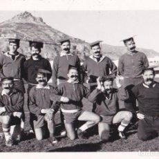 Coleccionismo deportivo: FOTOGRAFÍA. EQUIPO DE FUTBOL. CAMPO DEL COLLAO. ALCOY, 1968. ORIGINAL¡¡¡. Lote 206983053