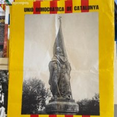 Coleccionismo deportivo: CARTEL UNI DEMOCRATICA. Lote 207046503