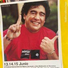 Coleccionismo deportivo: CARTEL PUBLICIDAD MARADONA. Lote 207046577