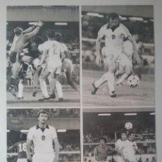Coleccionismo deportivo: FOOTBALL CZECHOSLOVAKIA VS ITALY MATCH EUROCUP 1980 LOT 4 PHOTOS CESKOSLOVENSKEM EURO. Lote 207069106