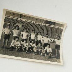 Coleccionismo deportivo: FOTOGRAFÍA SELECCIÓN ARAGONESA DE FÚTBOL, REAL ZARAGOZA. Lote 207138983