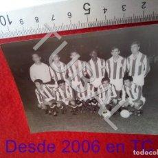 Colecionismo desportivo: TUBAL EQUIPO DEL VITORIA DE SETUBAL 1968 FOTO TINOCO BADAJOZ C2. Lote 207651216